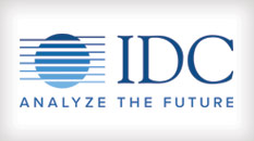 International Data Corporation (IDC) logo: Analyze the Future
