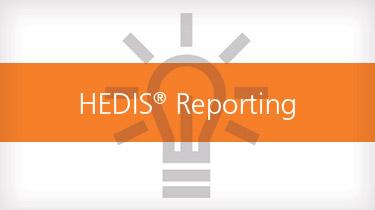 HEDIS reporting