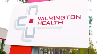 Wilmington health billboard