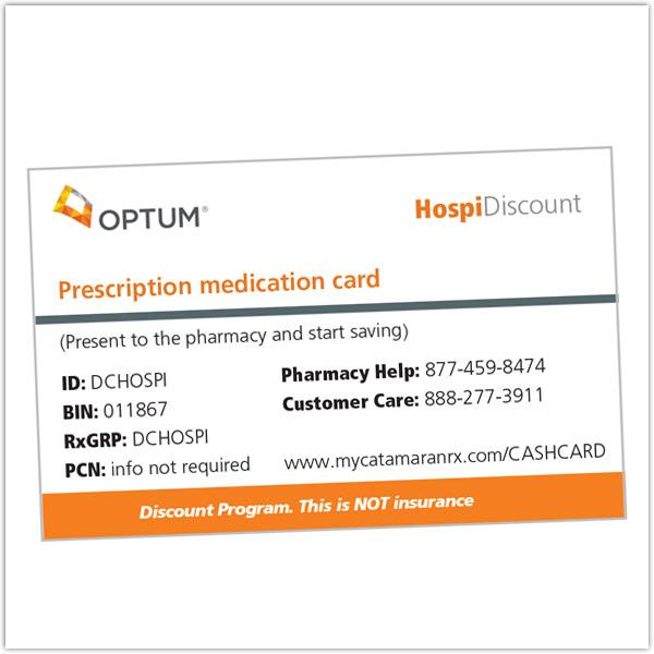 hospice prescription discount cards