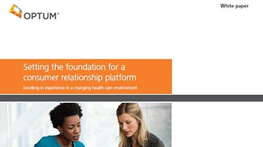 Thumbnail of the iRound white paper, 'Setting the foundation for a consumer relationship platform'