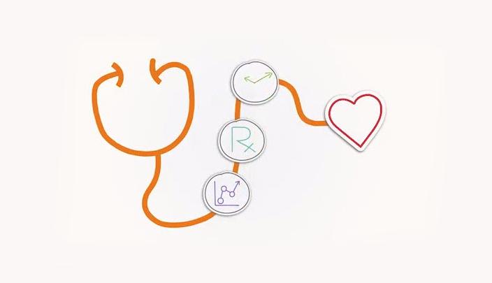 Stethoscope infographic