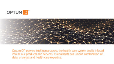 OptumIQ powers intelligence across the health care system