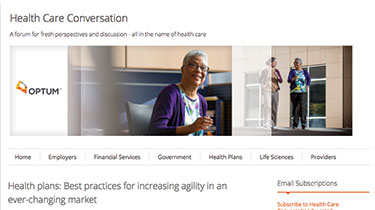 Health care conversation page thumbnail
