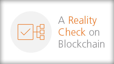 a reality check on blockchain banner