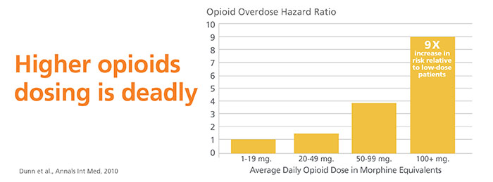 Chart  illustrates opioid deadly use