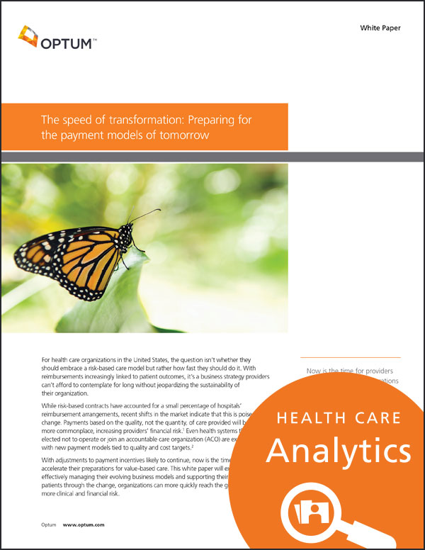 Health care analytics