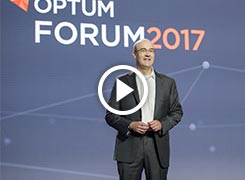 Mark Morsch speaking at Optum Forum