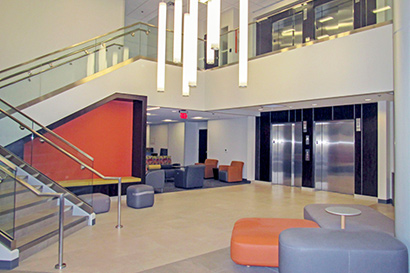 cancer center lobby