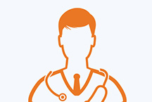 generic male doctor icon
